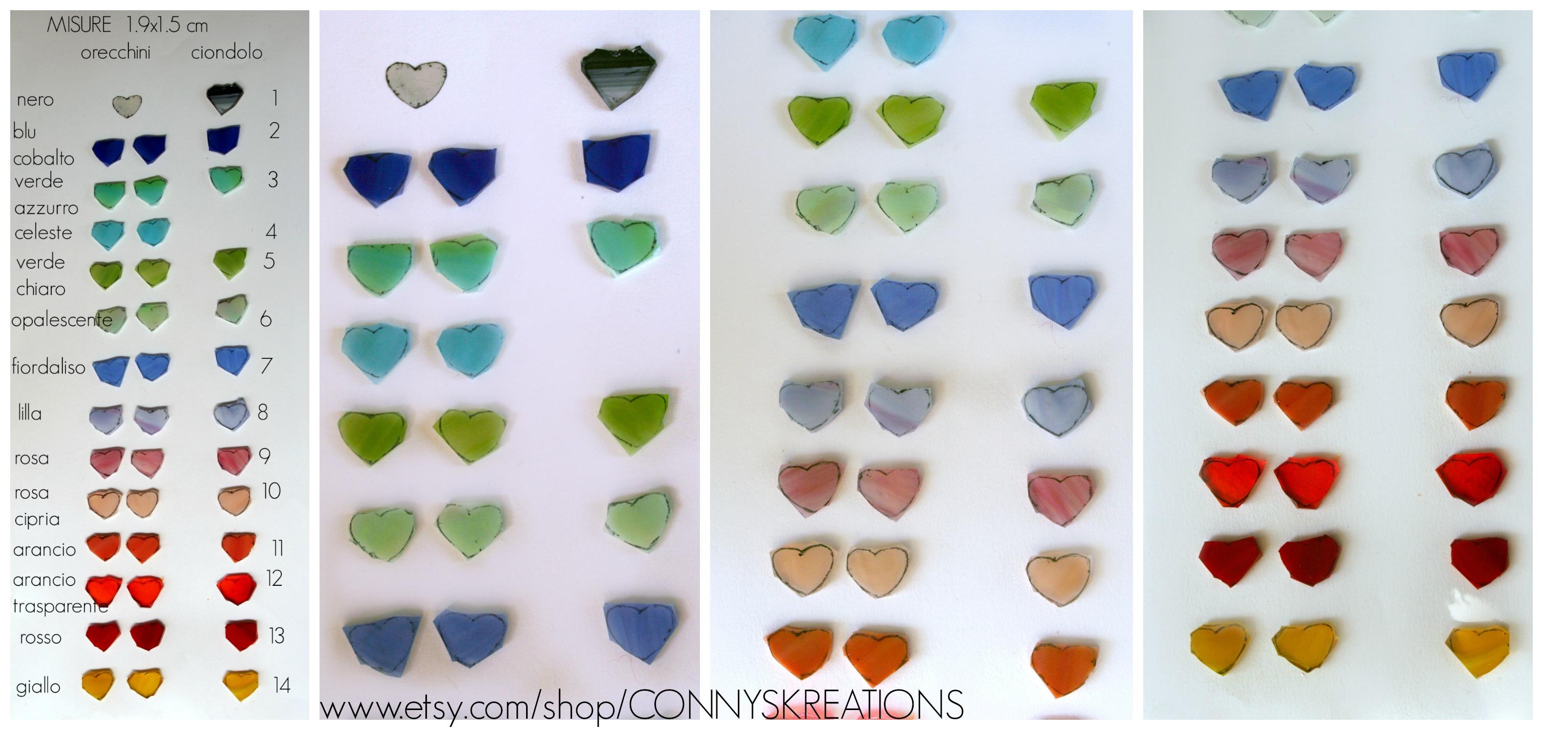 Tabella colori cuori.link